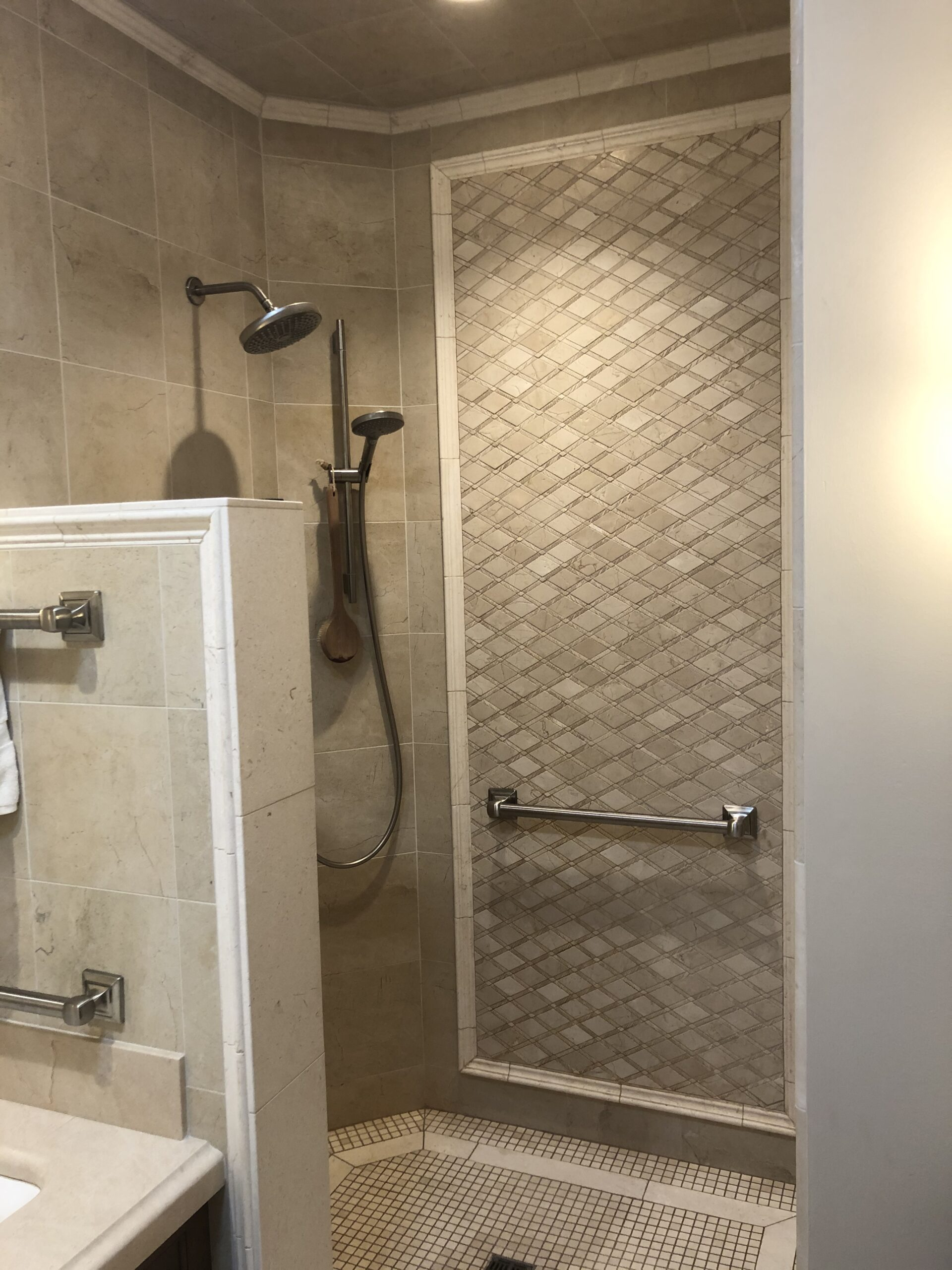 Master Bath Shower Enclosure